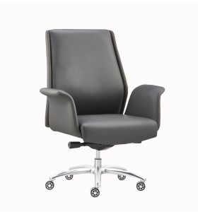 Wholesale Ergonomic Leather Office Visitor Chair(YF-B073)