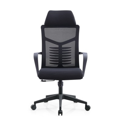 High Back Office Mesh Executive Chair With Nylon Base And PP Armrest(YF-A236)