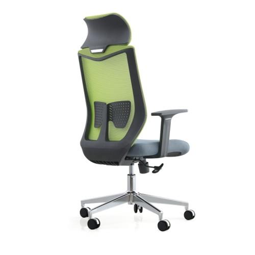 Кресло руководителя сетки с высоким бэк-офисом с фиксированным подлокотником PP (YF-A237-1)