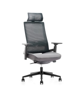 High Back Office Mesh Executive Chair With Aluminum Base(YF-A81)