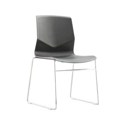 Wholesale office visit chair, one-piece back frame with seat  (YF-PX01B)