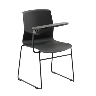 Wholesale spraying and stackable training conference chair with writing board(YF-PX01B-T)