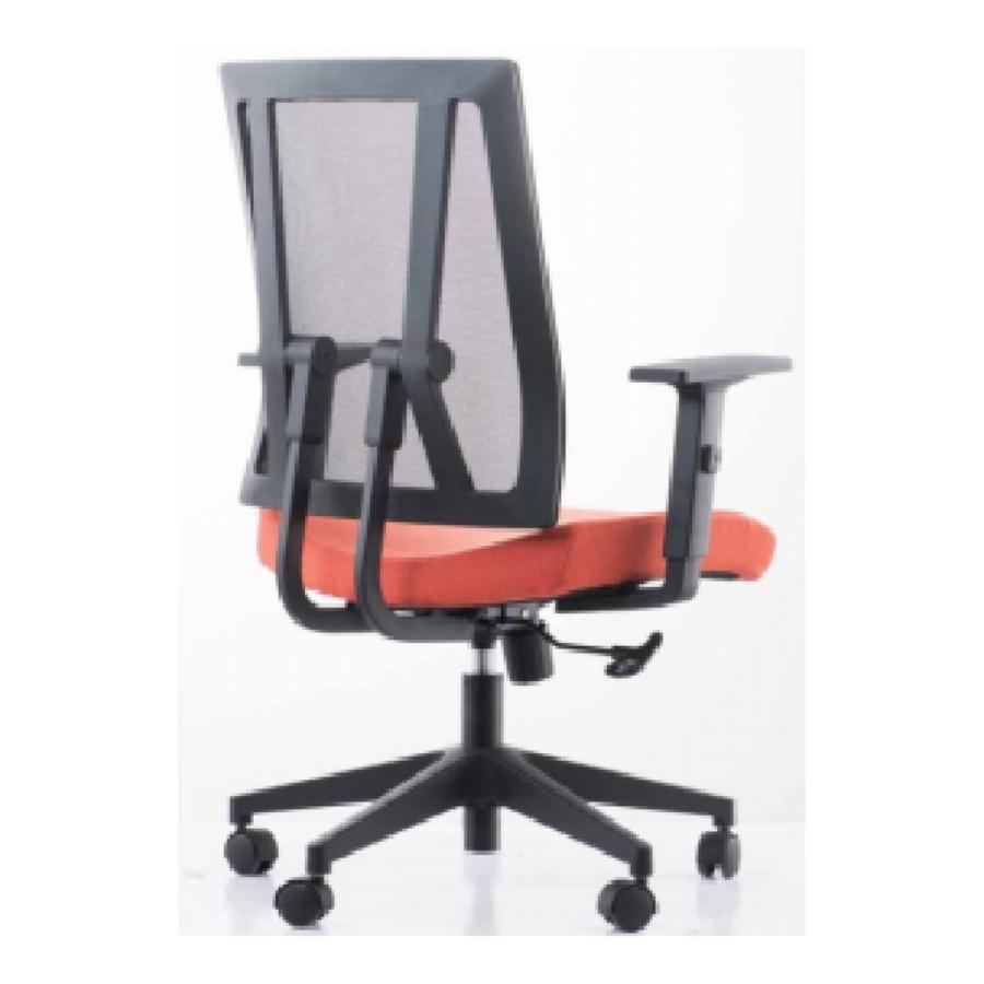 Средний бэк-офис сетка стул задачи с алюминиевым основанием (YF-683B-20)