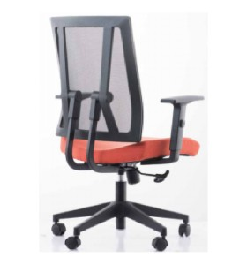 Middle Back Office Mesh Task Chair With Aluminum Base(YF-683B-20)