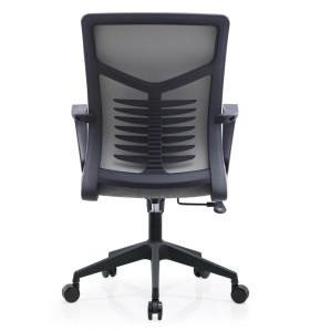 Chaise de travail en maille de bureau en gros avec taille fixe et accoudoir en PP (YF-B236)