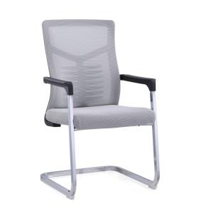 Chaise de travail en maille de bureau en gros avec pied en forme d'arc (YF-C236)