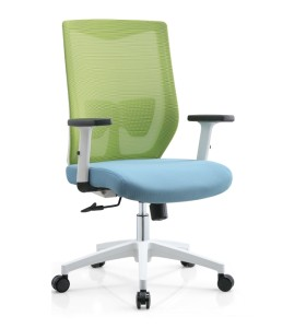 Middle Back Office Mesh Task Chair With Aluminum Base(YF-B237)