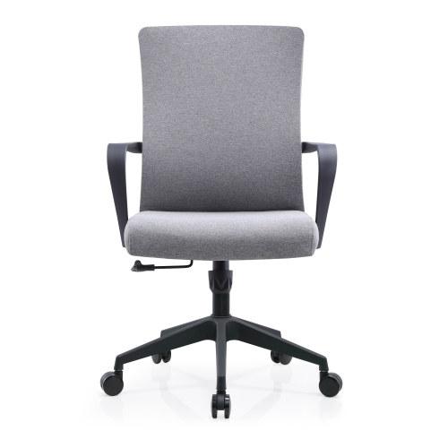 Silla de trabajo de malla de oficina al por mayor con cintura fija y apoyabrazos de PP (YF-B236)