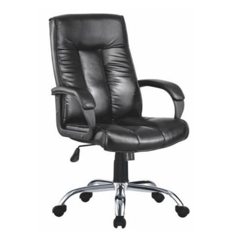 Chaise de bureau exécutif en cuir à dossier haut moderne en gros (YF-A239)