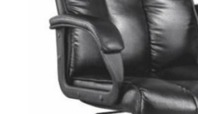 Chaise de bureau de direction en cuir moderne en gros (YF-A070-Orange)