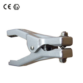ATEX approved Aluminum Static Grounding clamps with 3 tips