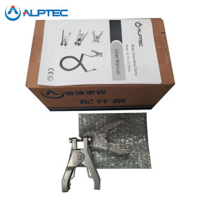 Heavy duty bonding and grounding clamps