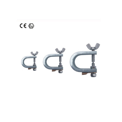 CE clamp earthing clamp stainless steel material