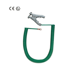 Grounding & Bonding Static Earthing Clamp with cable