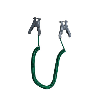 2 Static Grounding Clamp with 4m Green Copper Cable
