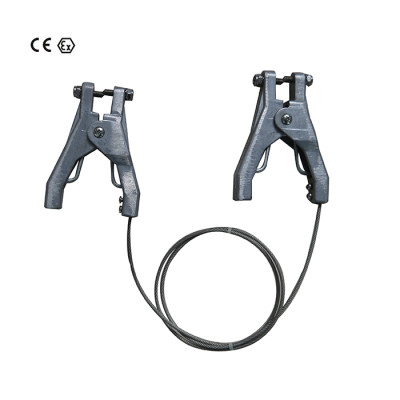 Grounding Assemblies with 2 pcs ATEX approved clamp