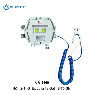 ATEX approved Static Grounding Monitoring System for Loading and unloading area