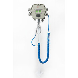 ATEX approved grounding monitoring system