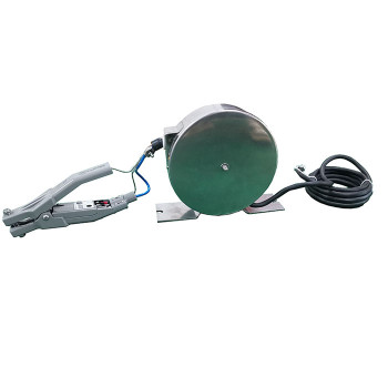 Battery operated Static Grounding Reel with Alarm