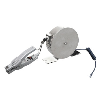 Battery operated Static Ground Reel with Alarm