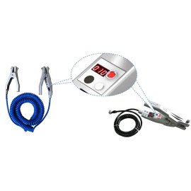 Self-testing Grounding Clamp with Visible & Audible Alarms
