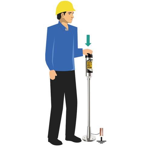 Intelligent voice alarm Personal Electrostatic Eliminating Alarm