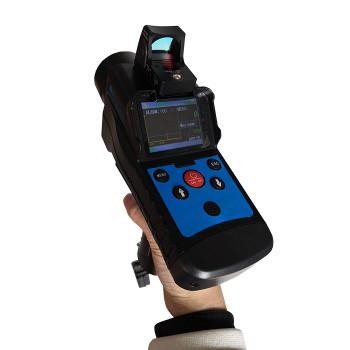 Laser methane gas alarm detector