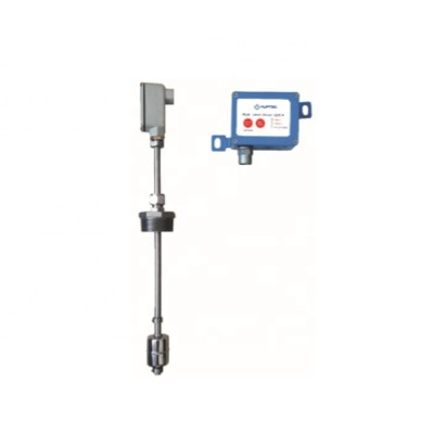 Split Float level switch sensor for petroleum storage tanks