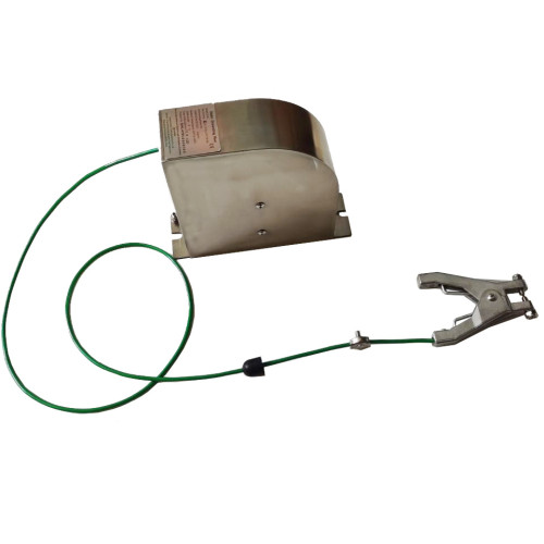 ATEX approved static cable reel with retractable cable