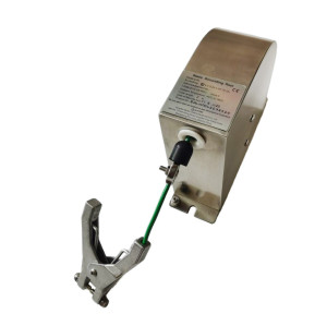 Spring Rewind Grounding Static Discharge Cable Reel for plane fuel truck
