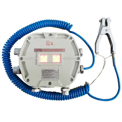 ATEX approved Static grounding system for tank trucks