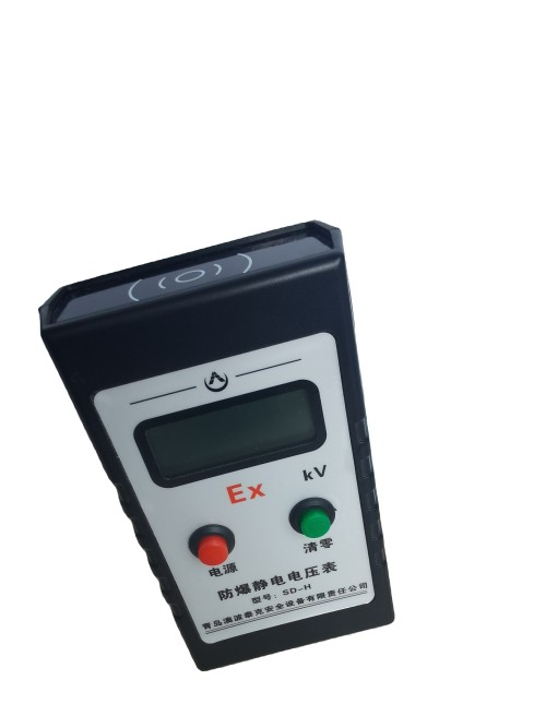Explosion proof electricity detector system
