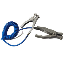 Mobile Static grounding clamps for drums