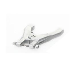 Static grounding hand clamp