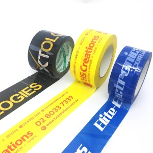 BOPP tape with logo printed