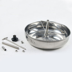 stainless steel feeder for un weaned piglet- piglet feeder