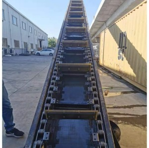 Auger livestock manure conveying lift machine