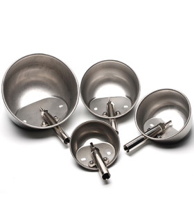 stainless steel pig cup waterer