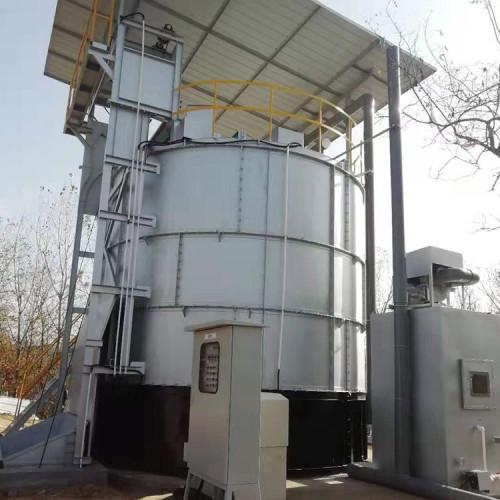 Agriculture waste-organic fertilizer composting fermentation tank