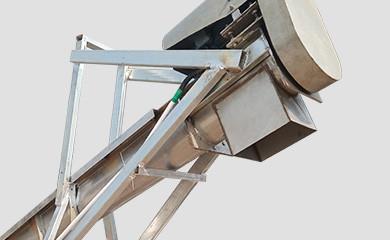 Chain -belt type Animal manure lifting conveying machine