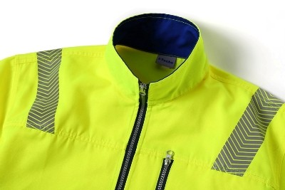 High Visibility Workwear Jacket Polyester/Cotton