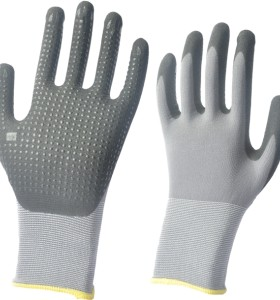 Micro Foam Nitrile Coating gloves-Dotted Palm