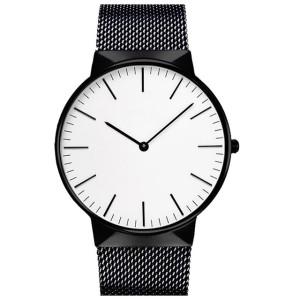 Fashion Large Dial Military Quartz Men Watch Leather Sport Watches Classic Clock Wristwatch