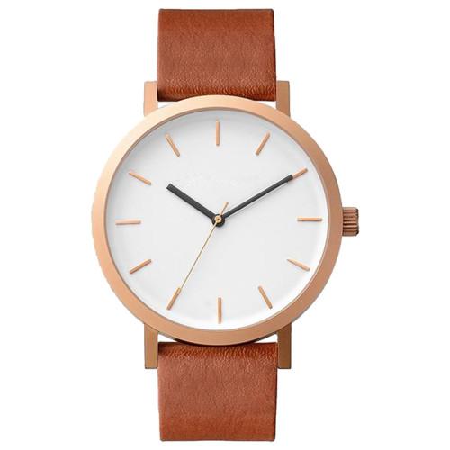 Minimalist design IP plating stainless steel custom logo chinese wholesale men watches