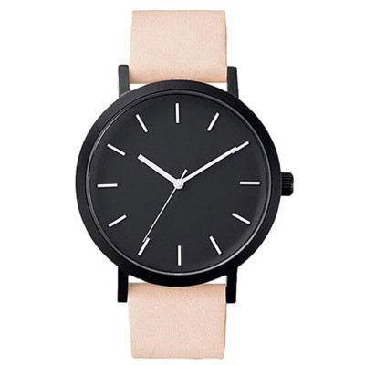 Wholesale classic custom logo men women quartz wrist watch
