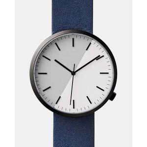 Custom Oem Minimalist Japan Movt Stainless Steel Matte All Black Leather Quartz Watch