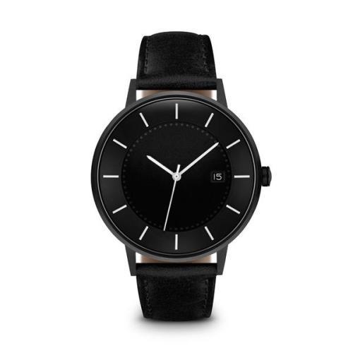 Fashion Stylish Brands Stainless Steel Custom Logo Leather Rose Gold Wrist Womens Quartz Watch Luxury