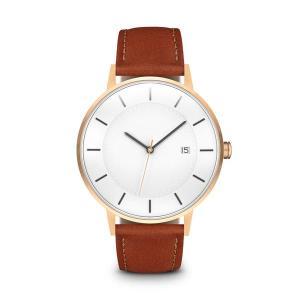 Custom Oem Minimalist Japan Movt Stainless Steel Matte Leather Quartz Watch
