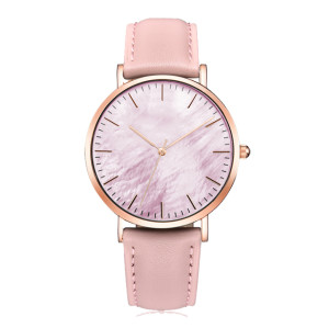 Factory Direct Simple Watches For Women Leather Band Fashion Unique Wrist Man Watch