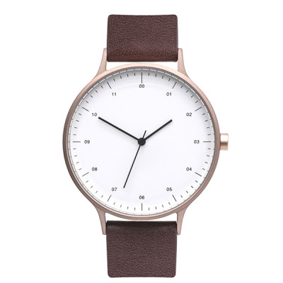 High Quality Fashion Classic 5 Atm Simple Custom Logo Men Quartz Wrist Watch Oem